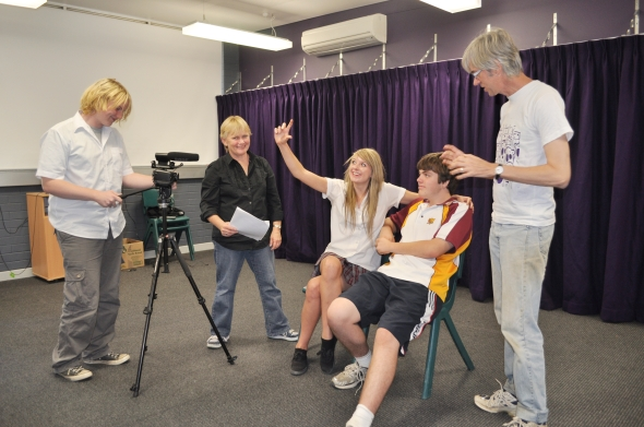 Jennifer's Words project in action at Dungog High School